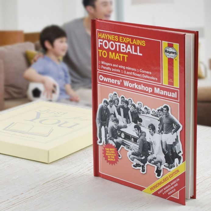 Haynes Explains Football - Personalised Book